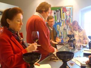Discussing Chateau Palmer 2012 with Bernard de Laage de Meux