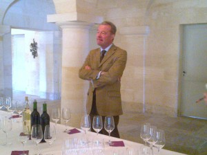 M. Paul Pontallier of Chateau Margaux