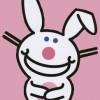HappyBunny-pinkbkgd