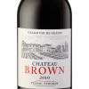 chateau Brown 2010